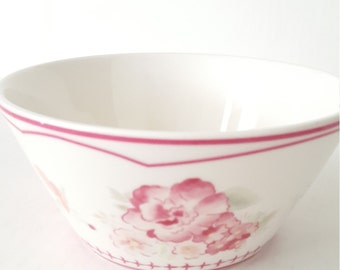 Vintage Mismatched Waverly Cereal Bowl For Brunch,  Dinner Party, Tea Party, Bridal Shower, Luncheon,