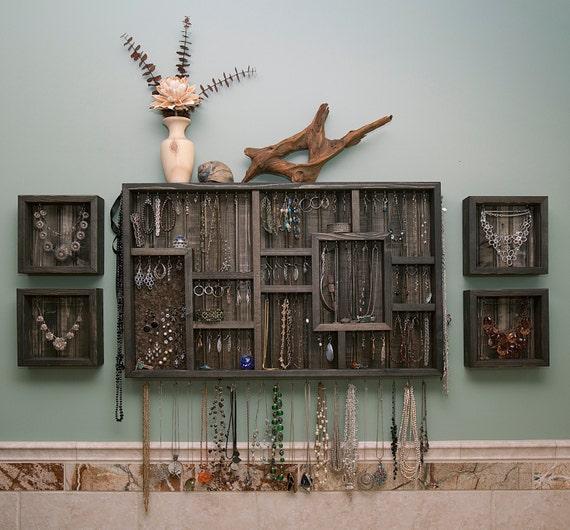 Make Your Own Jewellery Display Board: Wall Hanging Jewelry Organizer