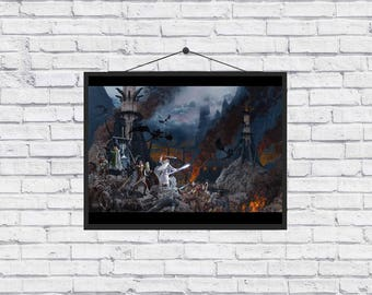 The Lord of the Rings Art unique Poster