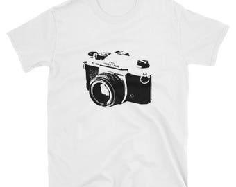 Legendary Pentax K1000 35mm SLR t-shirt