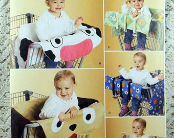 Simplicity 2920, Child's Grocery Cart Cover, Decorative Grocery Cart Seat Covers, New and Uncut