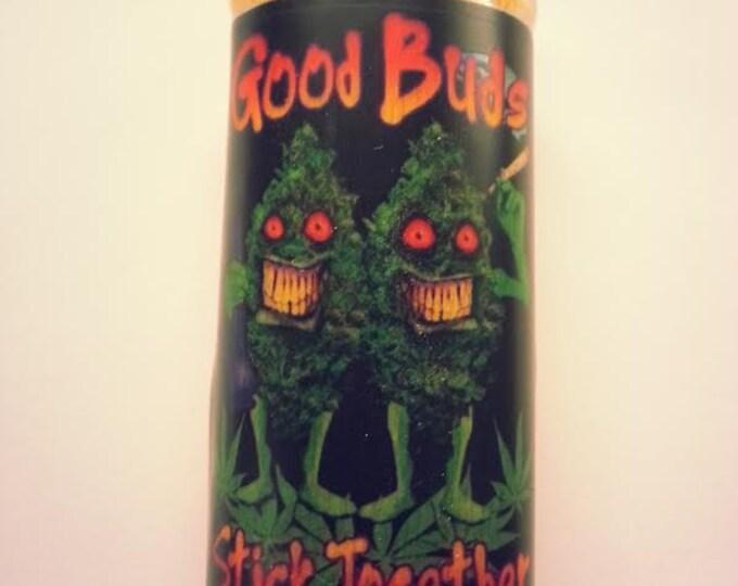 Good Buds Stick Together Lighter Case, Lighter Holder, Lighter Sleeve Pot Weed, Marijuana, Ganja