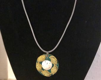 Beside the Sea  - Shells and Sand Dollar Necklace