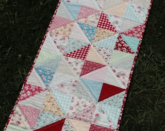 Candy Calico Table Runner