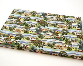 Retro Holidays Caravans Etoffe Fun Frame (400 x 300mm)