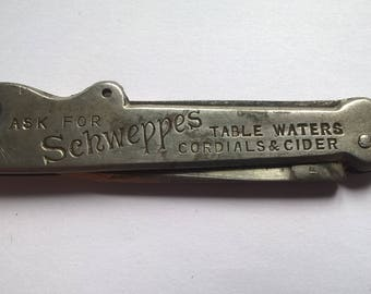 William Rodgers Advertising Bottle Opener