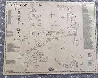 the cape cod ghost map