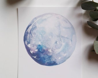 postcard- to the moon and back