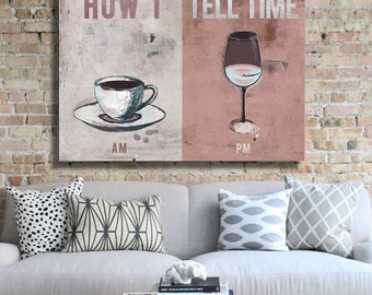 IKONICK How I Tell Time Canvas Art