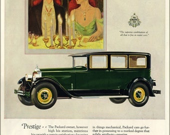 Poster, Many Sizes Available; 1927 Packard Magazine Ad 5576370304