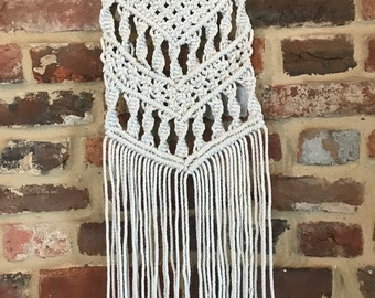 Hand Tied Macrame Wall Hanging
