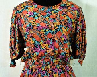 Rich Victor Costa Silk Dress