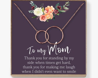 Mom Necklace: Mother Necklace, Mom Gift, Mother's Day Gift, Mother's Day Necklace, Mother Daughter Gift, Mother Daughter Necklace