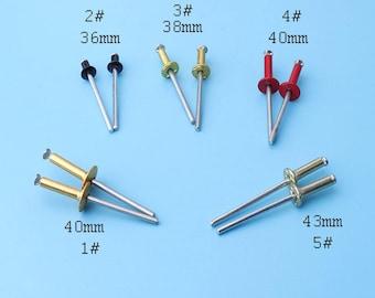 pop rivets 25pcs Aluminum pop rivets hardware findings  repair parts tools metal supplies metalwork DIY-multi size cd7