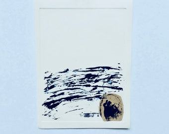 Monotype , Engraving , Original Monotype by Rottenman Editions