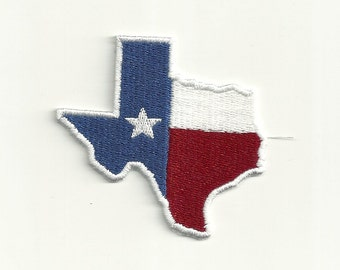 Texas State Flag Patch! Custom Made! F29