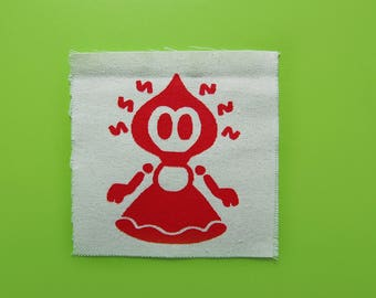 Flatwoods Monster Sew On Patch