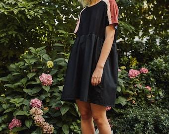 organic cotton smock dress