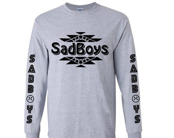 Sad Boys by @DopePremium Vintage Very Rare Sad Boys Japan VTG Black Long Sleeve #2 YJPTUS