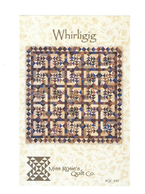 Whirligig Quilt Pattern By Miss Rosies Quilt Co Rqc 49 Flying