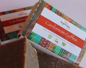 Cardamom Coffee Soap Bar 4oz