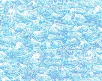SALE Liberty Fabric Ocean A Tana Lawn