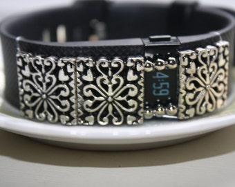 Fitbit Charge HR, Fitbit Charge, Fitbit Flex, Fitbit Jewelry, Fitbit Bling, Fitbit Floral Jewelry, Fitbit Window Jewelry
