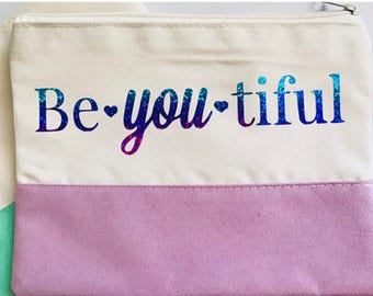 "A ""Beautiful"" Cosmetic Bag, Makeup Bag"