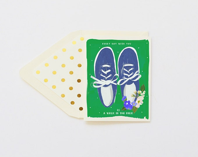 Everyday With You is a Walk in the Park card