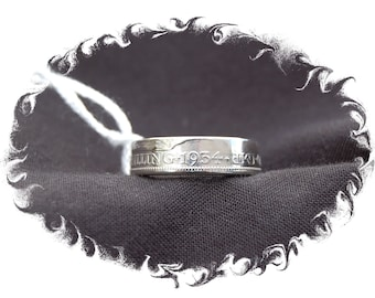 1934 and 1935 Silver Shilling Coin ring