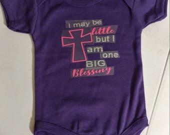 Blessed Baby onsies
