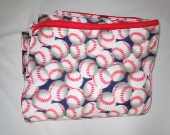 Baseball Fleece Blanket - Extra Large
