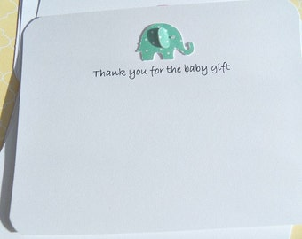 Baby Gift Thank You Cards - Baby Shower Thank You Cards - Gender Neutral Baby Cards - Baby Girl Cards - Baby Boy Cards - BSETY