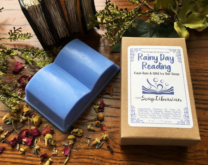 Featured listing image: Rainy Day Reading Bar Soap