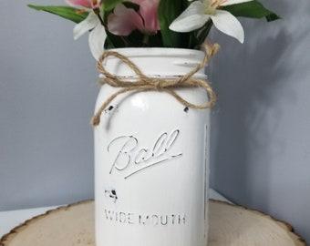 Mason Jar Vase
