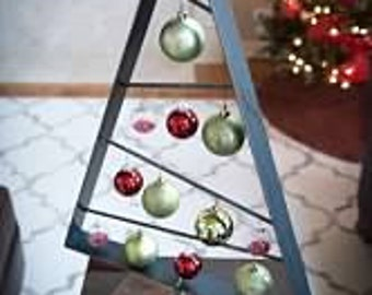Wood & Metal Christmas Tree