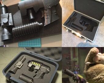 Disney Inspired-Zootopia Pistol (Digital Model for 3D Printing)
