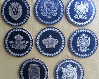 Italian Leather Coasters