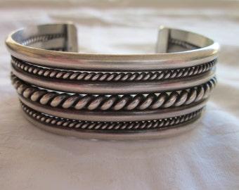 Native American Silver Cuff