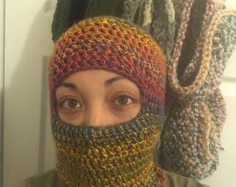 Crocheted Ski Mask
