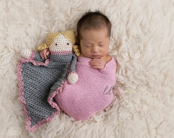 Instant Download, Dolly Lovey Crochet PATTERN