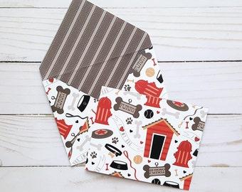Blank Dog Card, Dog Note Card, Dog Lover Gift, Pet Sitter Card, Dog Thank You Card, Puppy Note Card, Dog Greeting Card