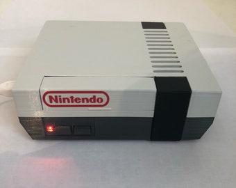 3D Printed Large NES Nintendo Raspberry Pi 2/3B+ retropie case with fan and heatsink