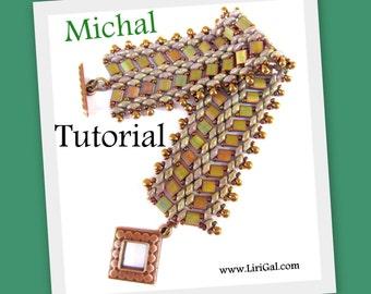 Tutorial Michal SuperDuo and Tila Beadwork Bracelet PDF