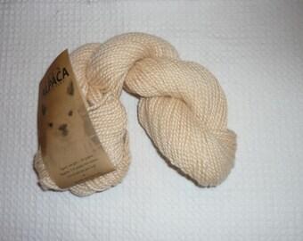 Blue Sky Yarn, Alpaca Yarn, cream color no 513, 20 skeins available