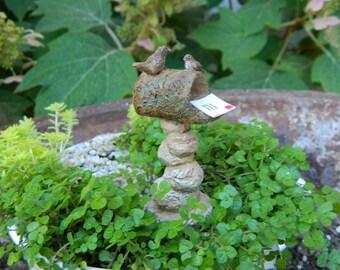 Fairy Garden Mailbox for Miniature Garden, Terrarium, or Tabletop garden Rustic Fairy Mailbox