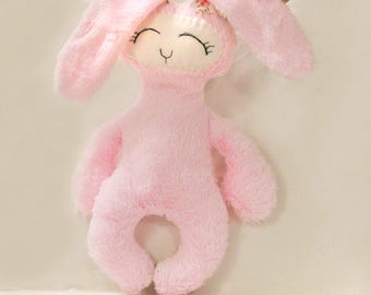 Sleepy EASTER Bunny Sewing Pattern with instructions, PDF