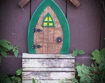 Faerie Doors Fairy Doors Gnome doors Elf Doors Hobbit Doors 9 inch & Gnome doors Fairy Doors Faerie Doors Elf Doors 12 inch