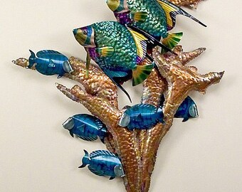Angelfish Wall Sculpture CO103A