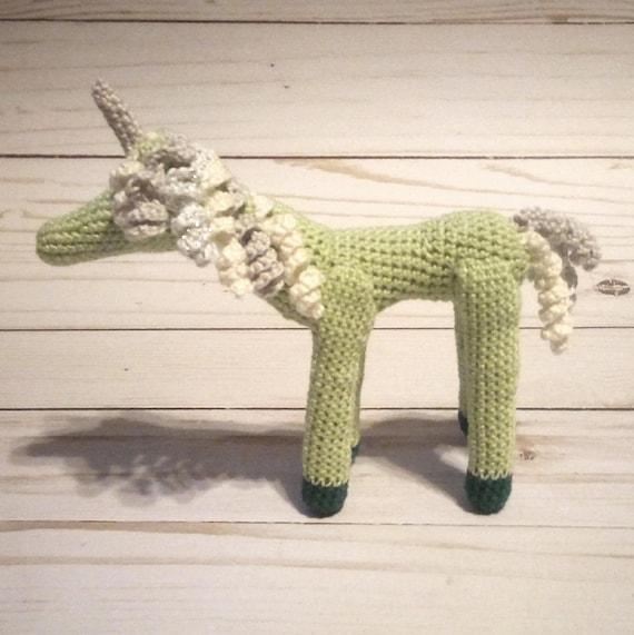 Mini Green Fairy Unicorn
